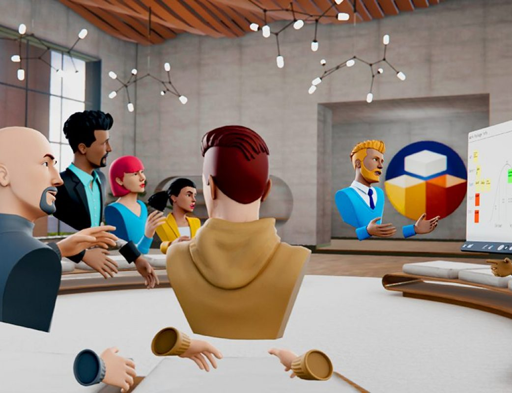 VR Live Meeting